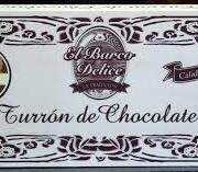 turrón chocolate  con nueces